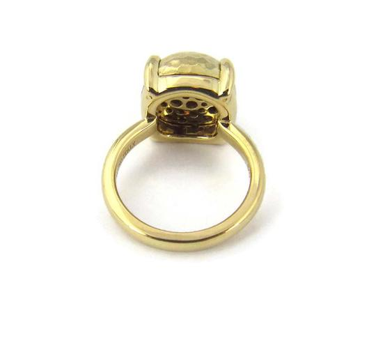 Tiffany & Co. Picasso Large Sugar Stack Hammered 18k Gold Ring Image 3