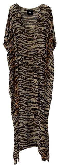 Preload https://img-static.tradesy.com/item/24812250/dolce-and-gabbana-animal-print-d-and-g-tiger-stripe-silk-kaftan-long-casual-maxi-dress-size-2-xs-0-4-650-650.jpg