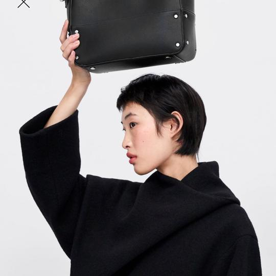 Zara Tote in black Image 1