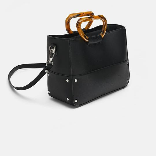 Zara Tote in black Image 2