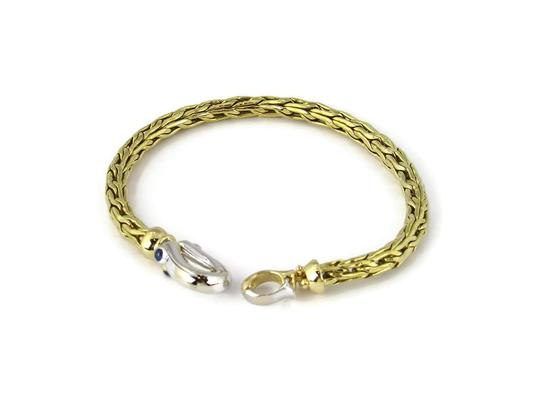 Preload https://img-static.tradesy.com/item/24812307/roberto-coin-23004-sapphire-18k-two-tone-gold-5mm-thick-woven-bracelet-0-0-540-540.jpg