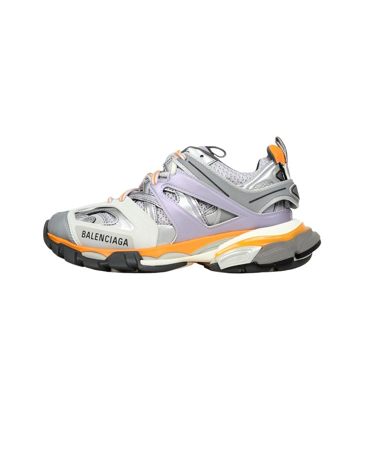 Balenciaga Track LED Light Trainers Grey KickNove