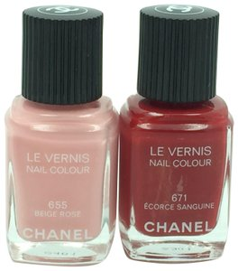 Chanel Chanel Assorted Nail Polishes Lot of 2 ***New Without Top***