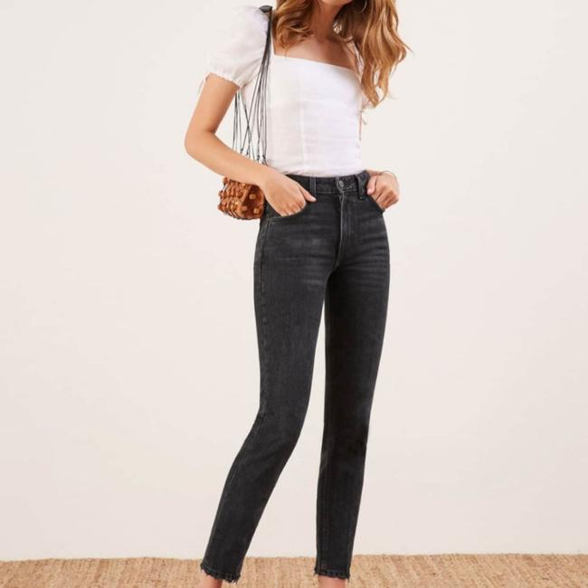 Reformation Straight Leg Jeans Image 3