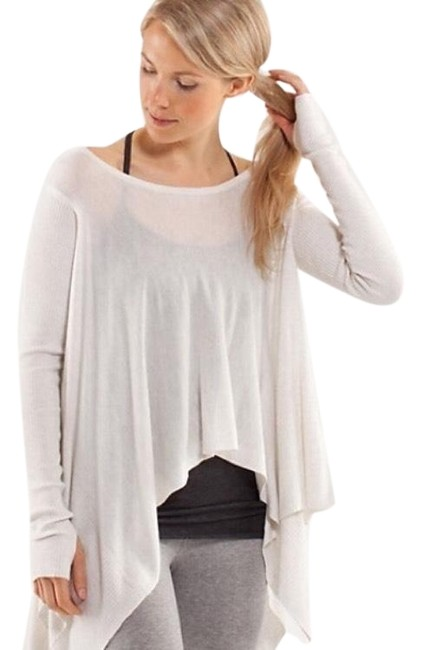 Preload https://img-static.tradesy.com/item/24812526/lululemon-new-without-tag-enlighten-heather-white-sweater-0-1-650-650.jpg