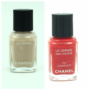 Chanel Chanel Assorted Nail Polishes Lot of 2 - New Without Top