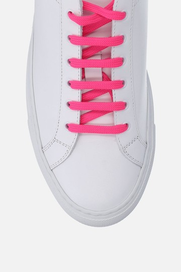 Common Projects Sneakers Golden Goose Ggdb White & Pink Athletic Image 2
