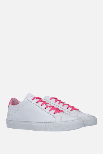 Common Projects Sneakers Golden Goose Ggdb White & Pink Athletic Image 3