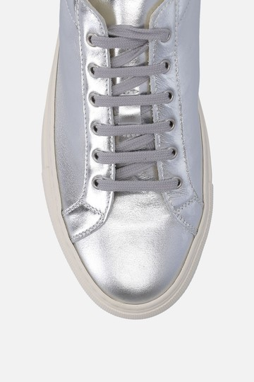 Common Projects Sneakers Golden Goose Ggdb Silver Athletic Image 2