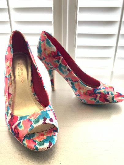 Christian Siriano bright floral Pumps Image 1