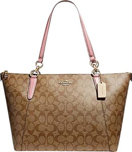 Coach Satchel Leather Satchel Handbag Purse 35808 Tote in multicolor