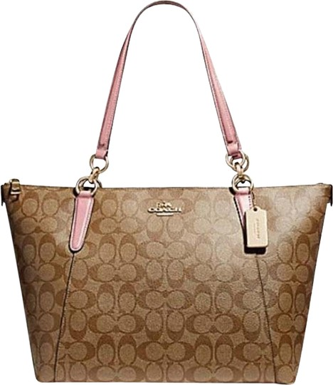 Coach Satchel Leather Satchel Handbag Purse 35808 Tote in multicolor Image 0