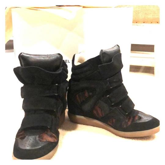 Isabel Marant black and brown Wedges Image 1