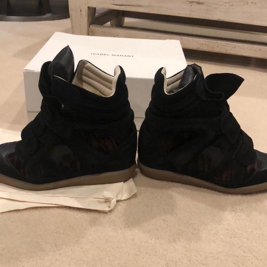 Isabel Marant black and brown Wedges Image 4
