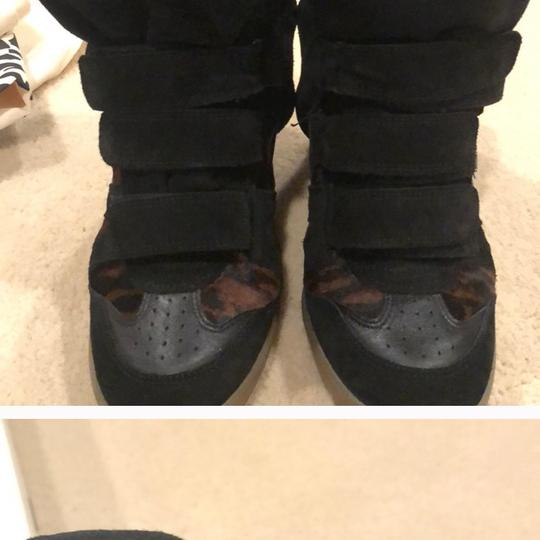 Isabel Marant black and brown Wedges Image 6
