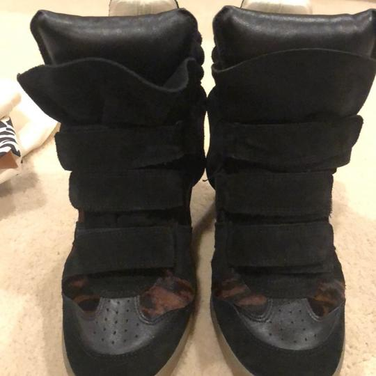 Isabel Marant black and brown Wedges Image 8