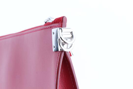 Versace red Clutch Image 8