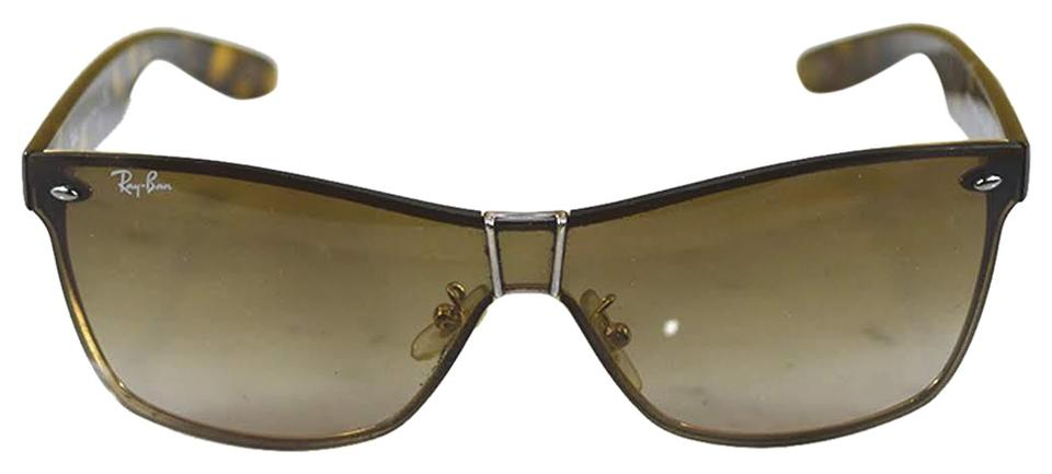 de03f39505 Ray-Ban Brown Gold Tortoise  106-41 Sunglasses - Tradesy