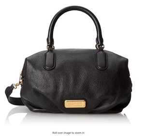 Marc by Marc Jacobs Cow Leather Satchel in black