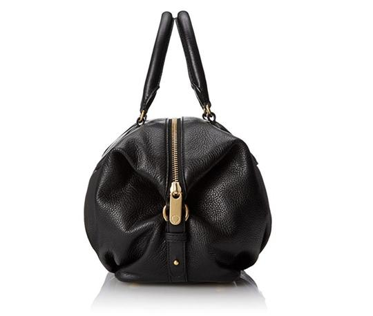 Marc by Marc Jacobs Cow Leather Satchel in black Image 1