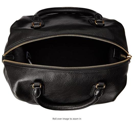 Marc by Marc Jacobs Cow Leather Satchel in black Image 5