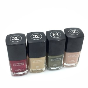 Chanel Chanel Le Vernis Assorted Nail Polishes (Lot of 4)