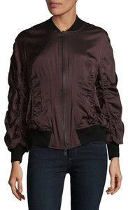 Donna Karan New aubergine maroon wine Jacket