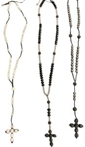 Other cross bead necklaces