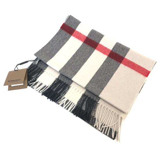 Burberry The Large Classic Cashmere Scarf in Mega Check Image 2