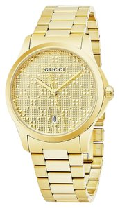 Gucci G-Timeless Stainless Diamante Dial YA126461