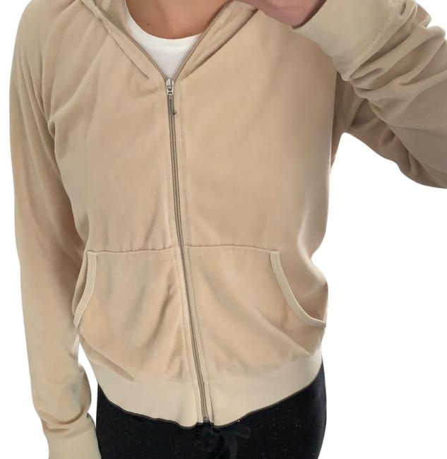 Preload https://img-static.tradesy.com/item/24813094/juicy-couture-beige-velour-zip-up-sweatshirthoodie-size-os-one-size-0-1-650-650.jpg