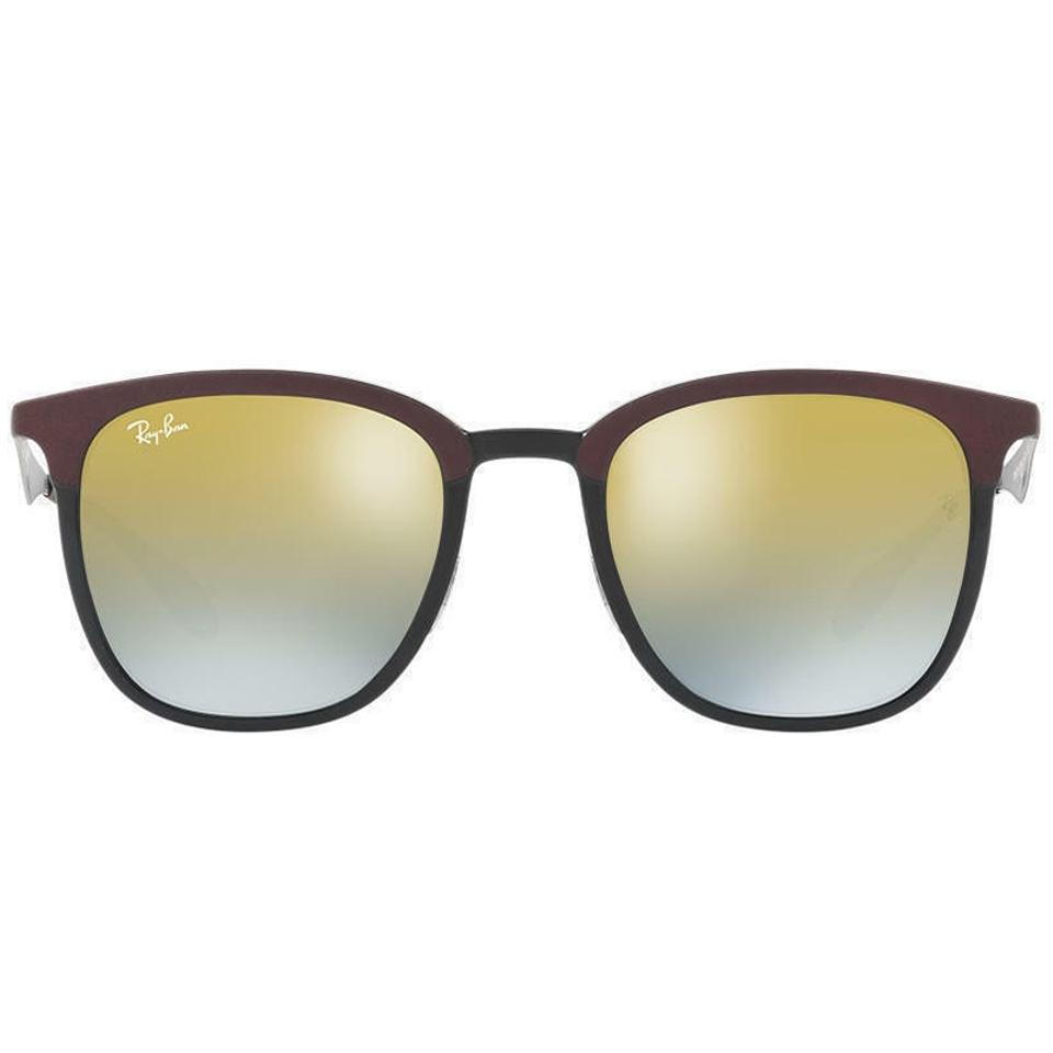 757d40d00f Ray-Ban Matte Black Brown Frame   Green Gradient Mirrored Lens Rb4278  6285a7 Square Style Unisex Sunglasses