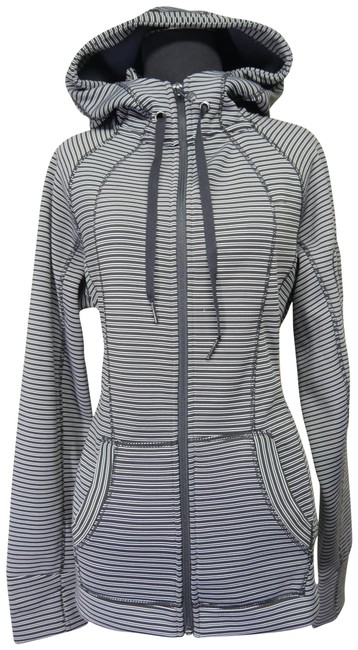 Preload https://img-static.tradesy.com/item/24813255/90-degree-by-reflex-black-white-and-stripe-spandex-athletic-hoodie-activewear-outerwear-size-12-l-0-1-650-650.jpg