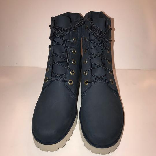 Timberland navy Boots Image 2