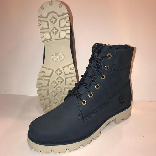 Timberland navy Boots Image 4