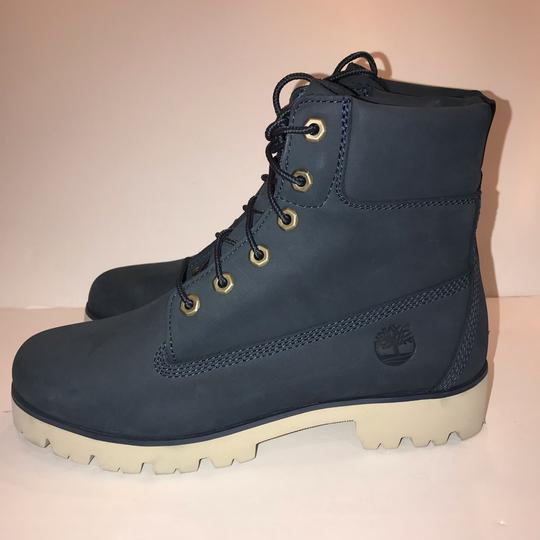 Timberland navy Boots Image 5