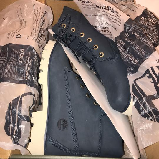 Timberland navy Boots Image 8