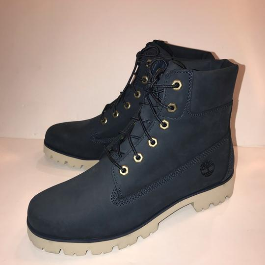 Timberland navy Boots Image 3