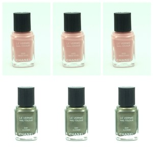 Chanel Chanel Le Vernis Assorted Nail Polishes Lot of 6