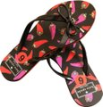 Kate Spade Black, Pink and red Sandals