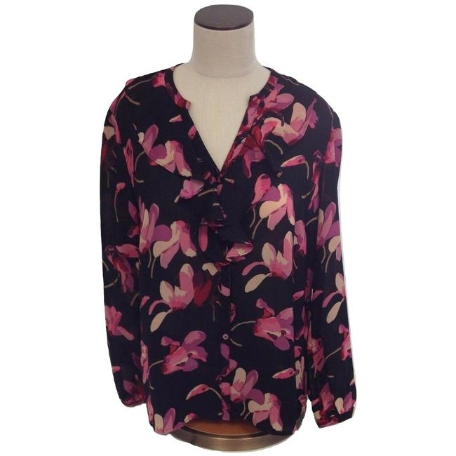 Preload https://img-static.tradesy.com/item/24813478/multi-color-floral-longsleeve-blouse-size-12-l-0-0-650-650.jpg