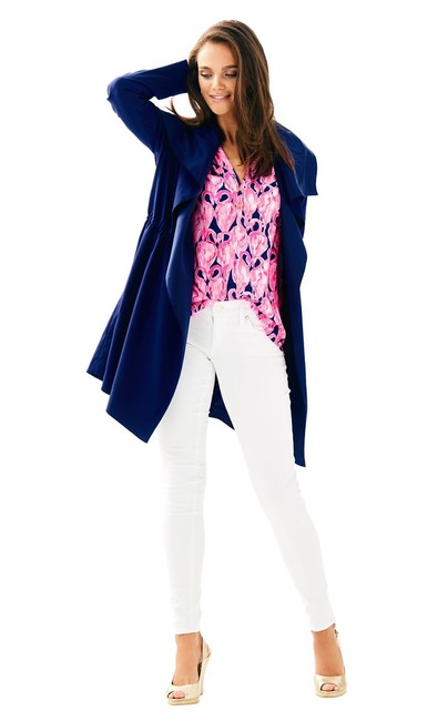 Lilly Pulitzer Trench Coat Image 3
