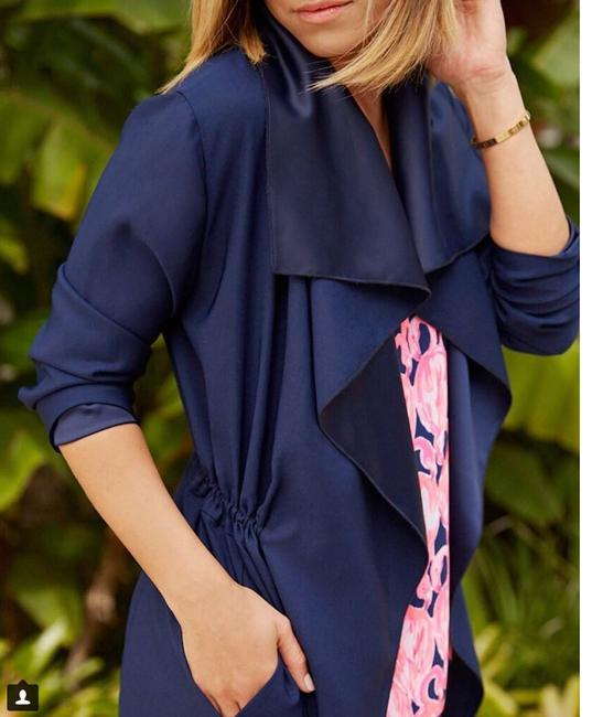 Lilly Pulitzer Trench Coat Image 4