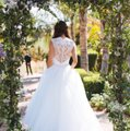 Allure Bridals Ivory Tulle and Lace (9162) Ball Gown Formal Wedding Dress Size 2 (XS) Image 0