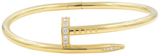 Preload https://img-static.tradesy.com/item/24814023/cartier-yellow-gold-size-17-juste-un-clou-bangle-with-papers-bracelet-0-2-540-540.jpg