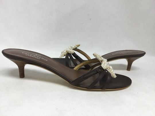 Valentino Brown Sandals Image 3