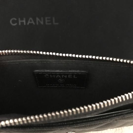 Chanel Chanel black caviar Pouch wallet Image 7