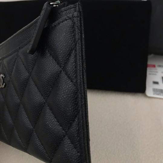 Chanel Chanel black caviar Pouch wallet Image 8