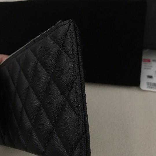 Chanel Chanel black caviar Pouch wallet Image 9