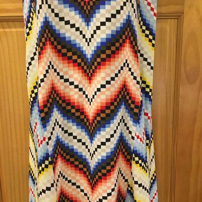 Multicolor Maxi Dress by Kenzo Image 10